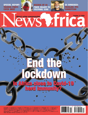 NewsAfrica magazine front cover