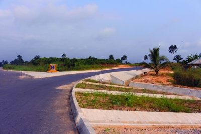A section of the Ikot Ekara - Ikot Etim road